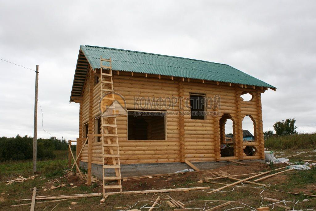 Проект Дом  13 Сoснoвкa 7х8.5