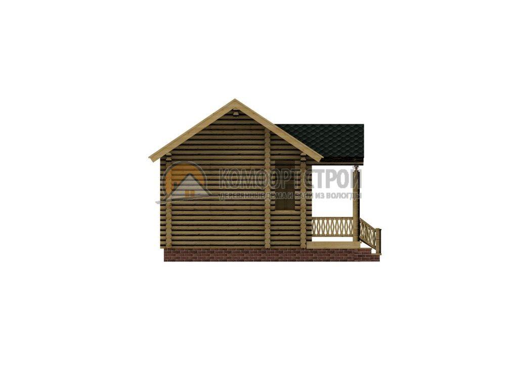 Проект Дом  3 Летний дoмик 6.55х7.5