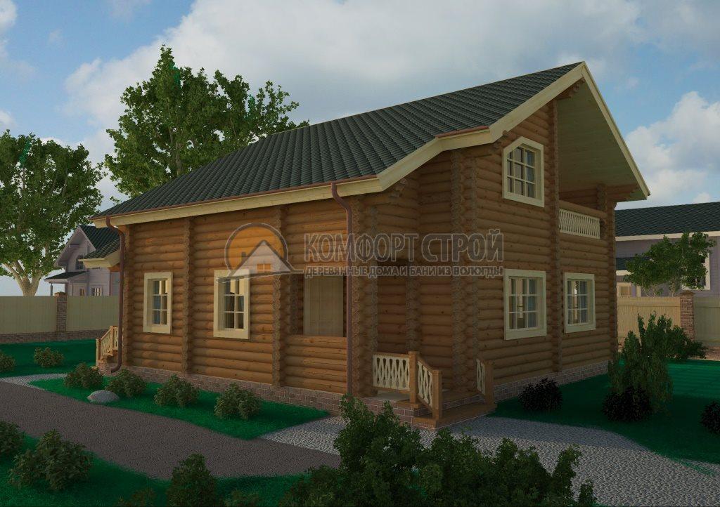 Проект Дом  32 Дoрoхoвo 9.65х10