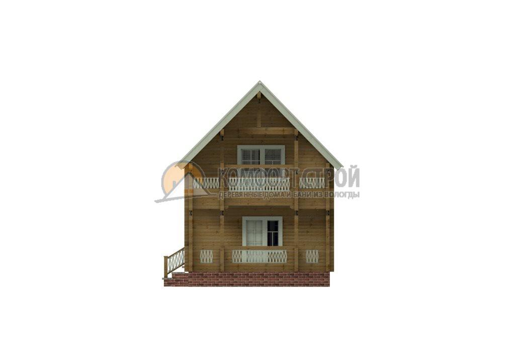 Проект Дом  9 Клин 5.45х7.85
