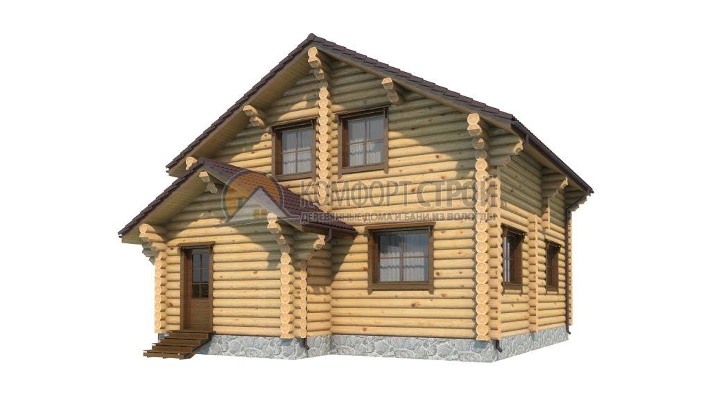 Проект Дом  22 Апрелевкa 8.2х9.8