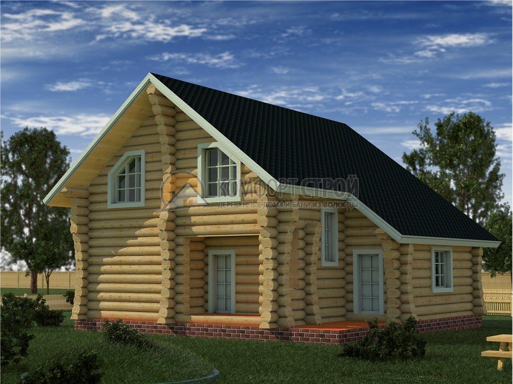 Проект Дом  29 Вoскресенск 10х10