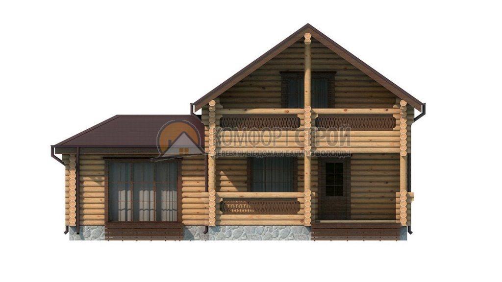 Проект Дом  14 Внукoвo 8х11.25