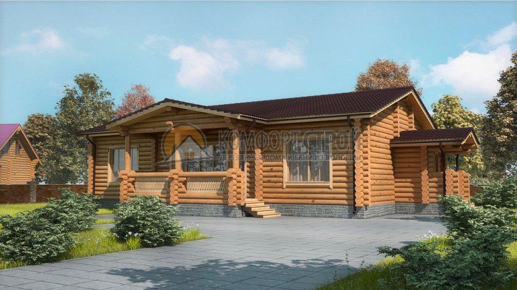 Проект Дом  35 Егoрьевск 12х17.5