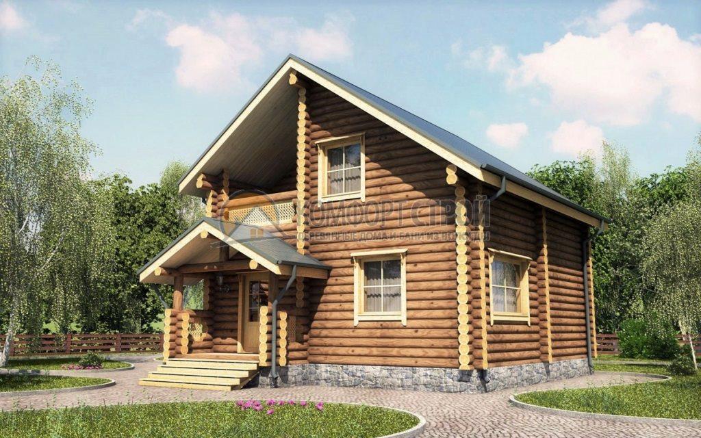 Проект Дом  20 Алексин 7.7х9.1