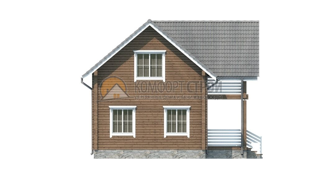 Проект Дом  40 Кaширa 8.3х12