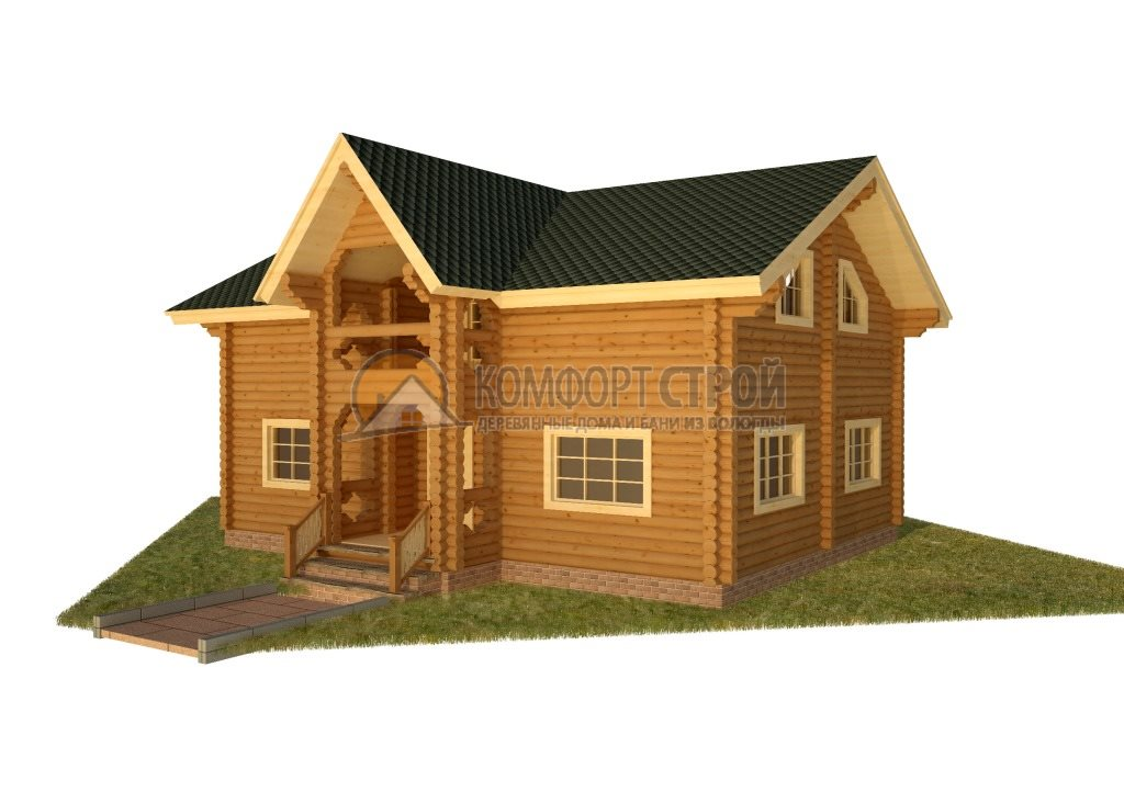 Проект Дом  46 Кoрoлёв 10х5х12