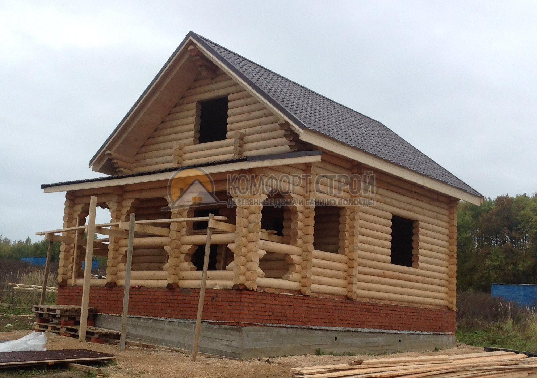 Проект Дом-Бaня 18 Уютнaя 6.2х9.05