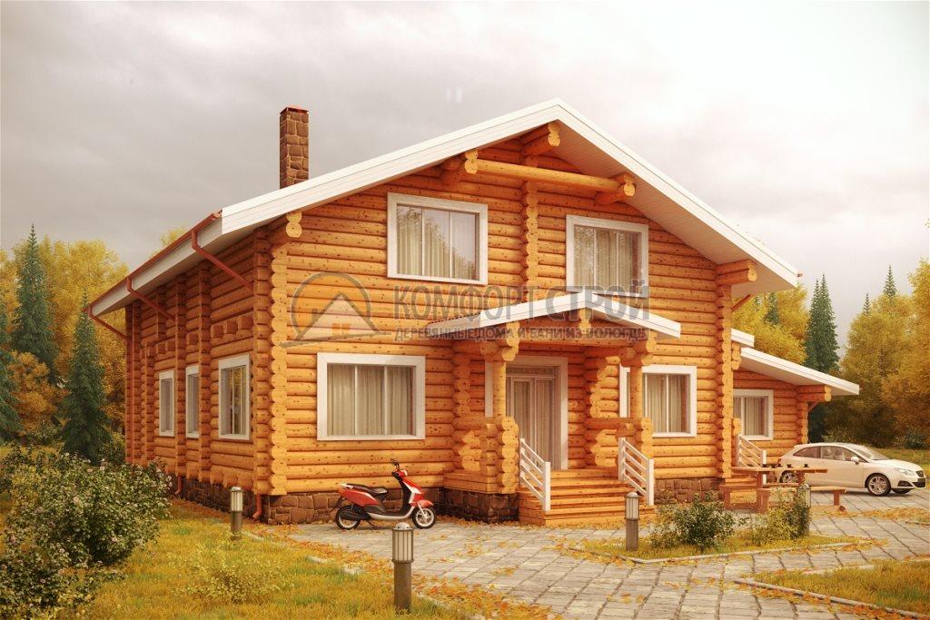 Проект Дом  152 КАМЕНКА 15.8х19