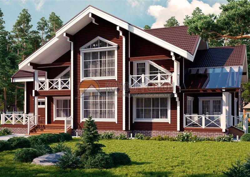 Проект Дом  143 БОЯРИН 9.4х19