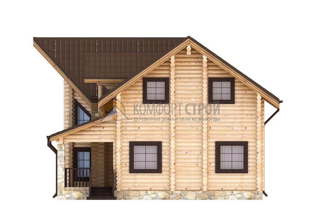 Проект Дом  142 ЯХТА 10.6х14