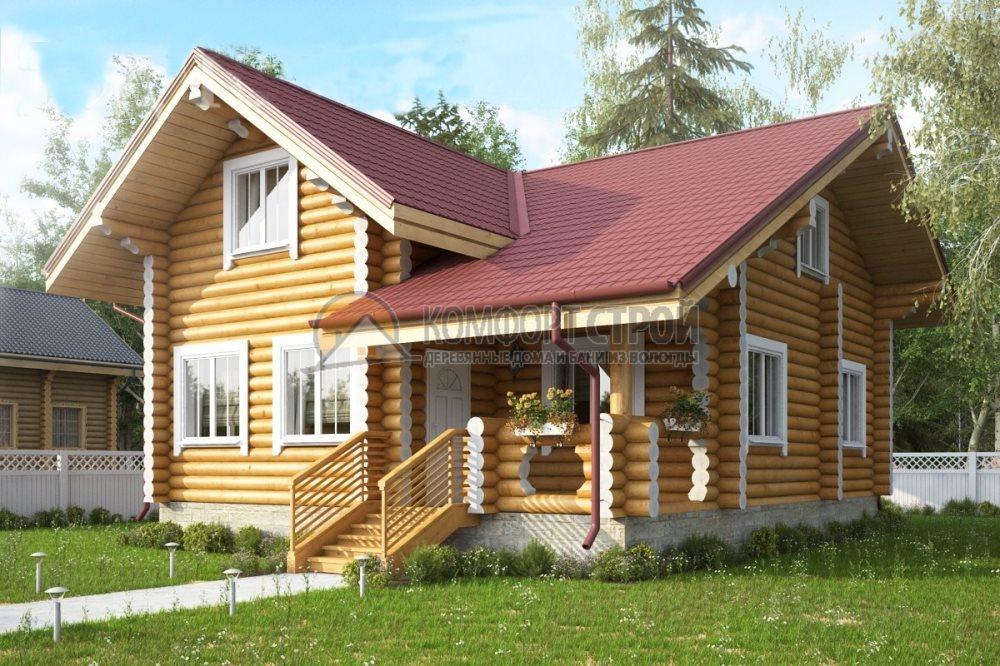 Проект Дом  82 БОРОВИК 7.8х9.5