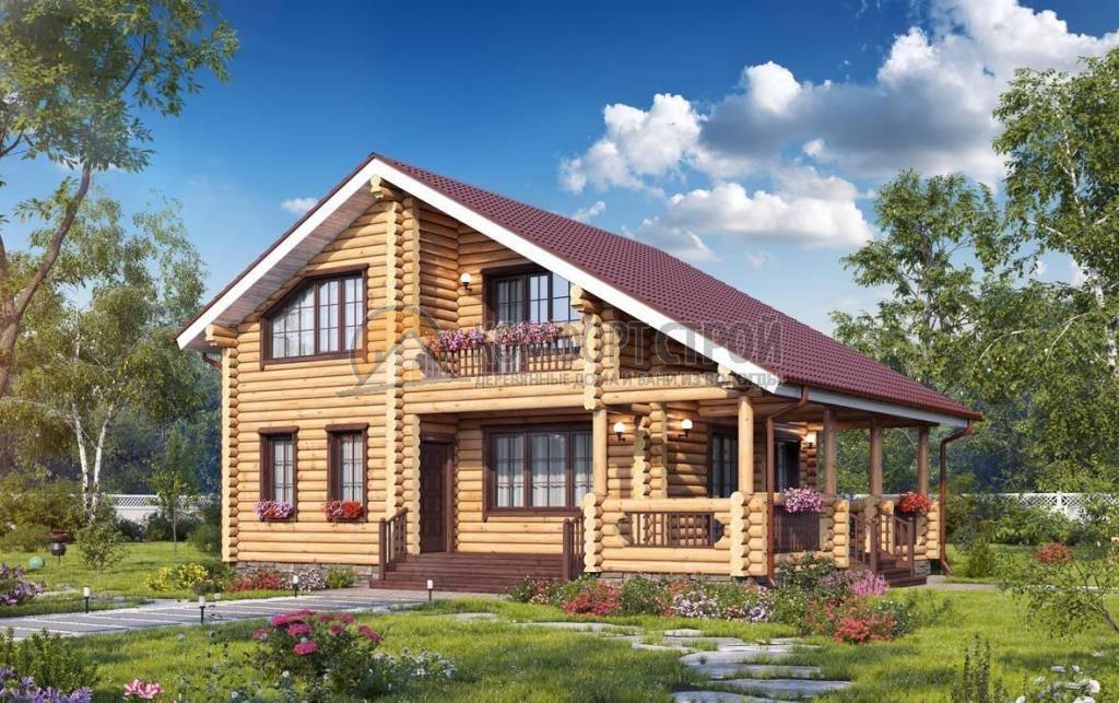 Проект Дом  98 СЯМЖА 8.7х11.3