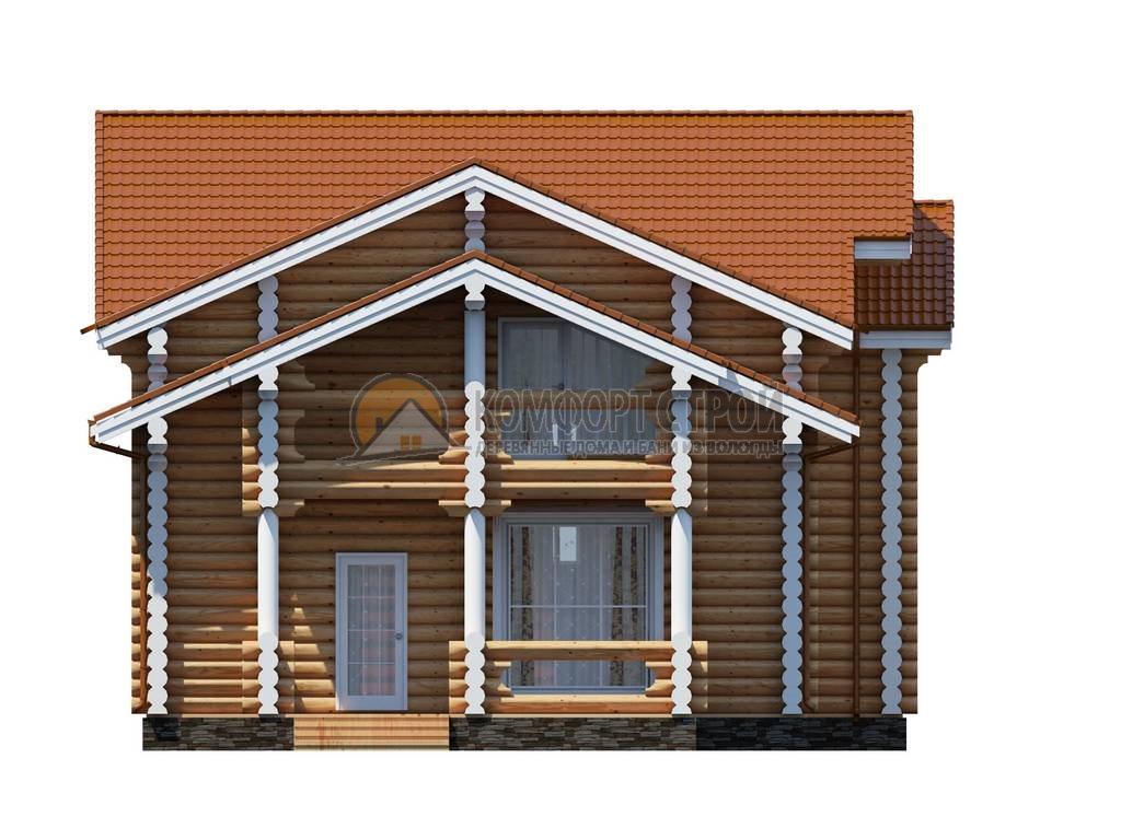 Проект Дом  110 НОВОМОСКОВСКИЙ 9.95х11.5