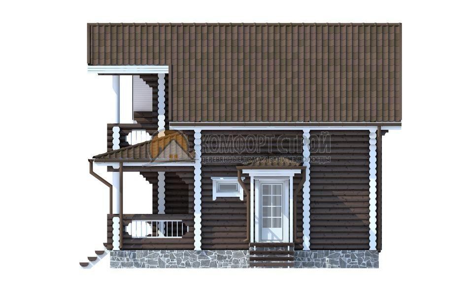 Проект Дом  71 МАРИНИНО 8.4х8.5