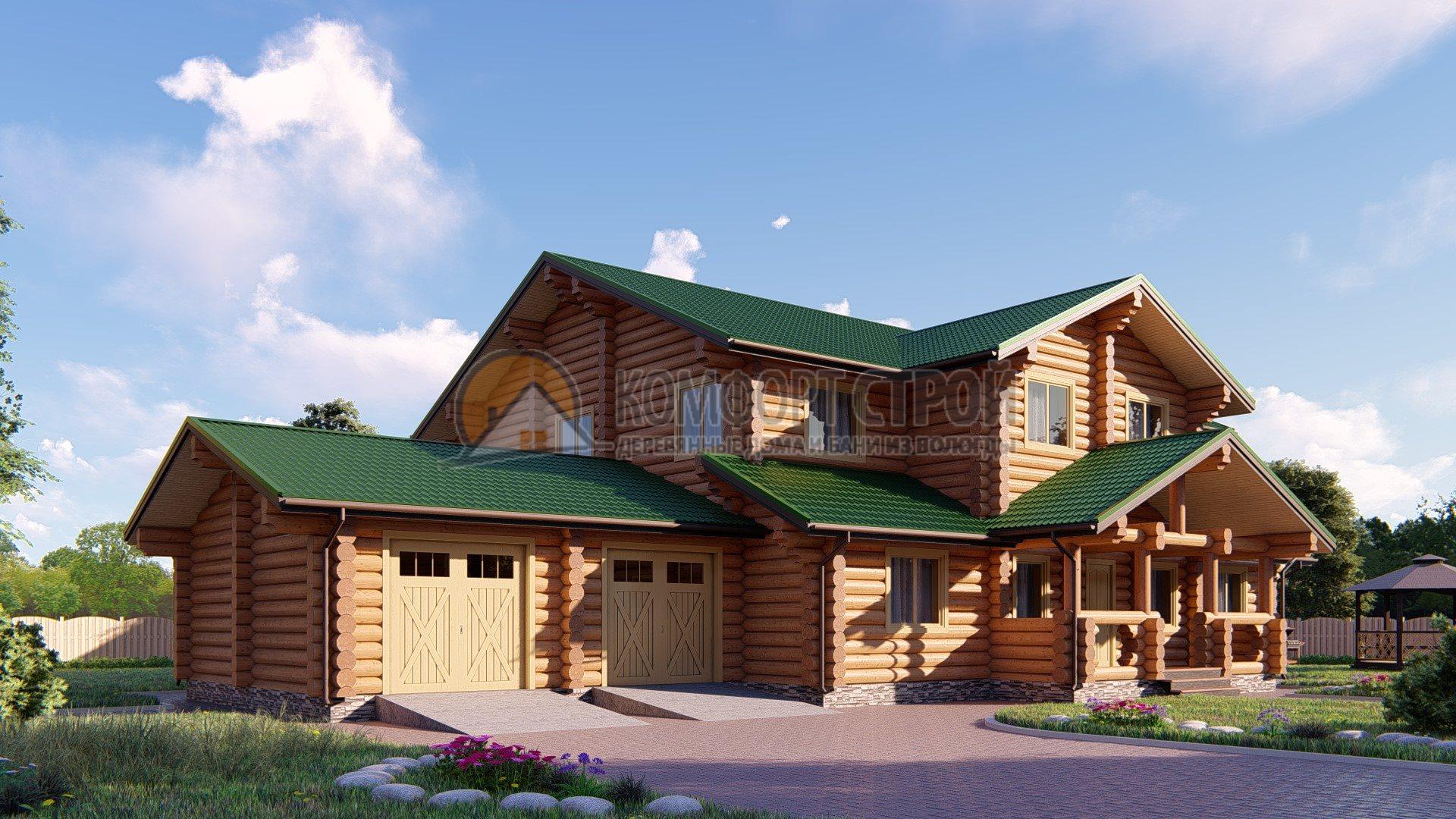 Проект Дом 121 БАКОВКА 20.6х24.6