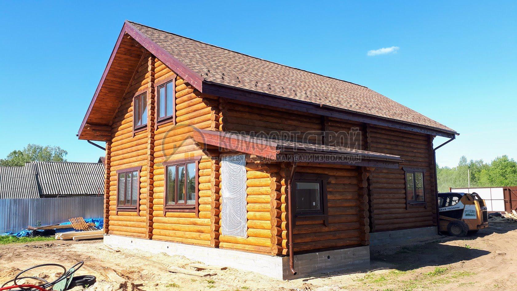 Проект Дом 122 Кировское 12х12.8