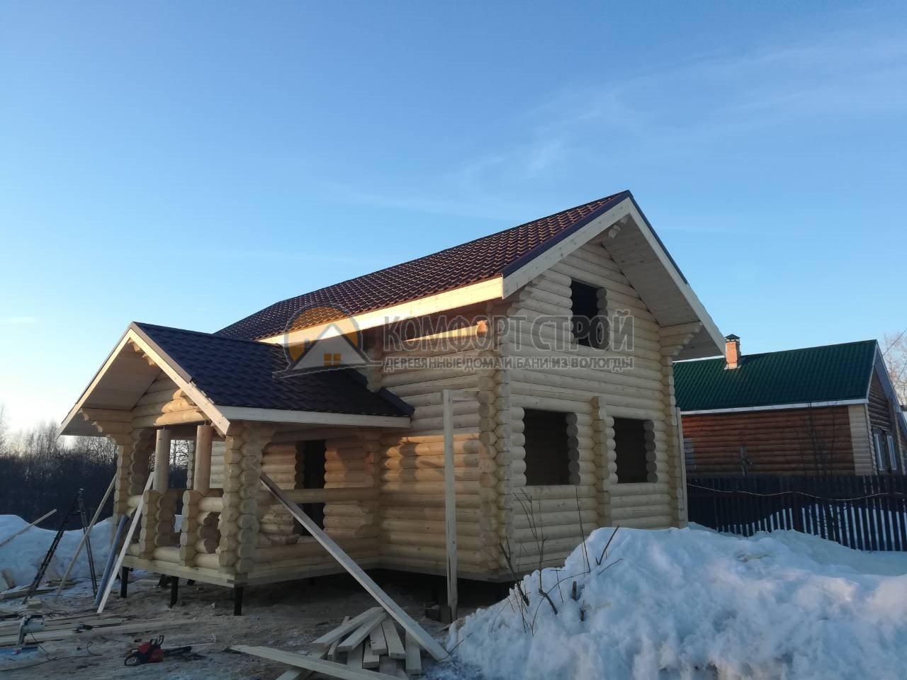 Проект Дом 120 Борисово 8.1х9.4