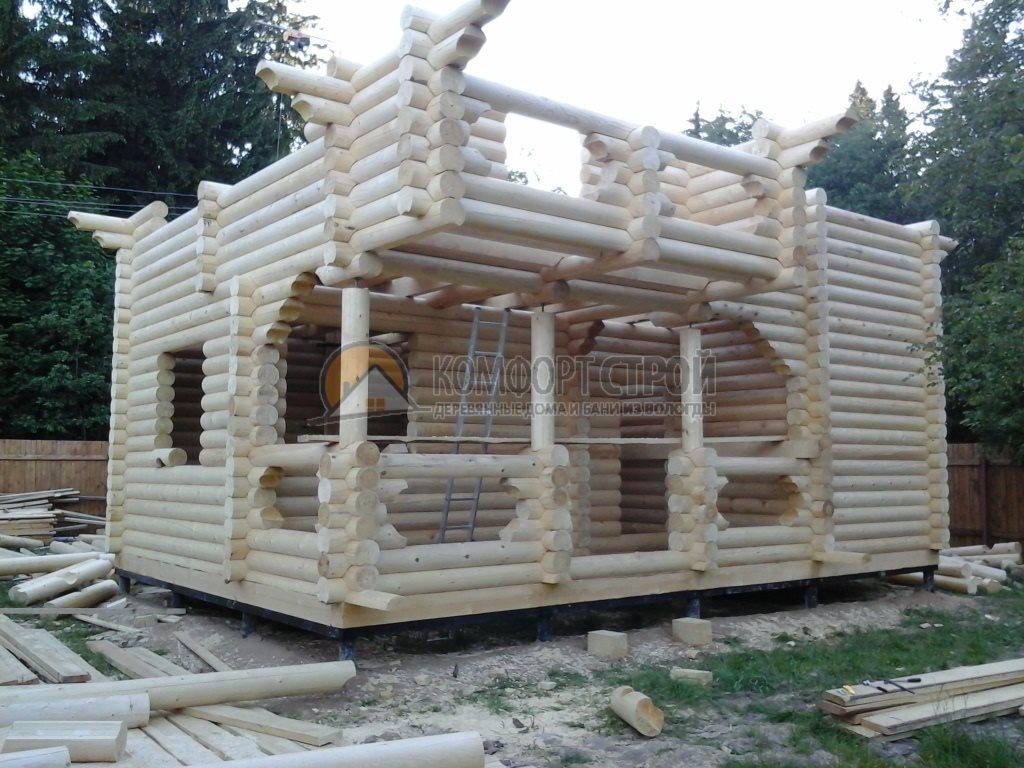 Проект Дом-Баня 174 Спутник 6х8.5