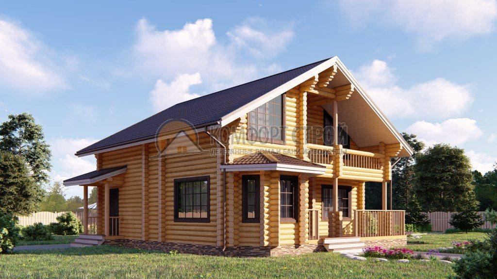 Проект Дом 184 Лесной 10.5х10.9