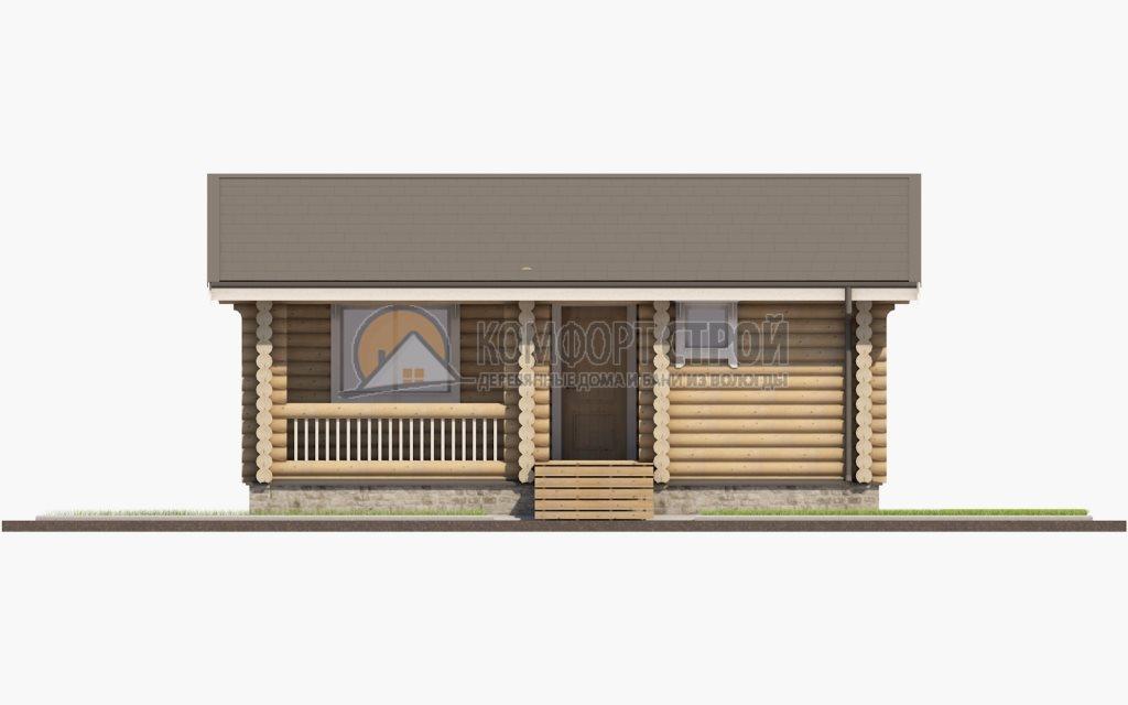 Проект Дом 202 Дачный 6х8