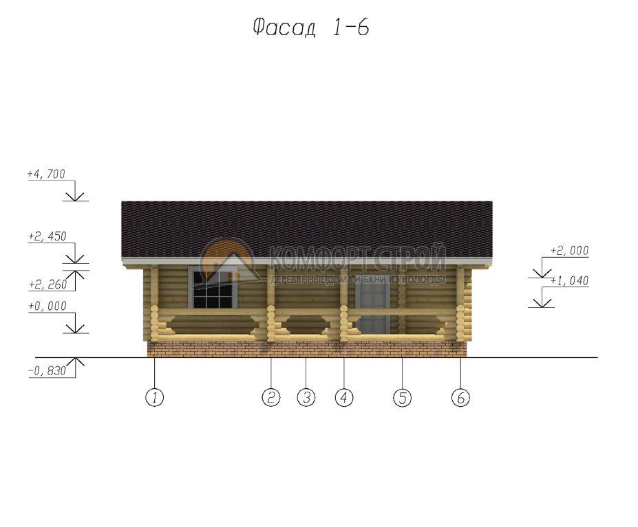 Проект №1 У пруда 9.5х10.5