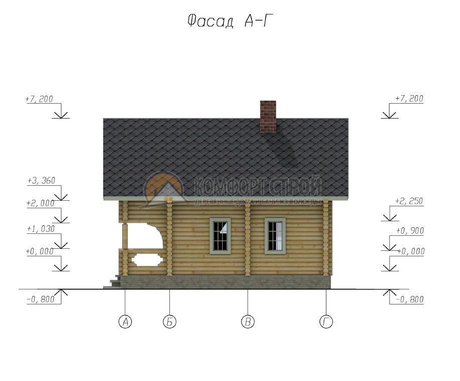 Проект №24 Берендеевo 8х9.5