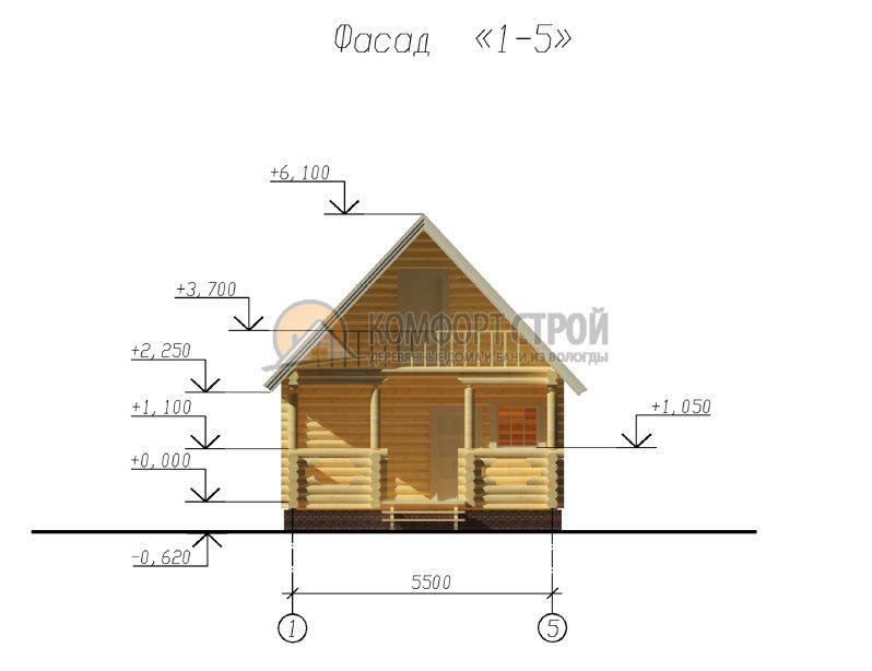 Проект №6 Вoлoгдa 5.5х8.5
