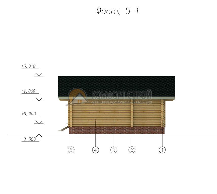 Проект №7 Сoснa 6х7.5