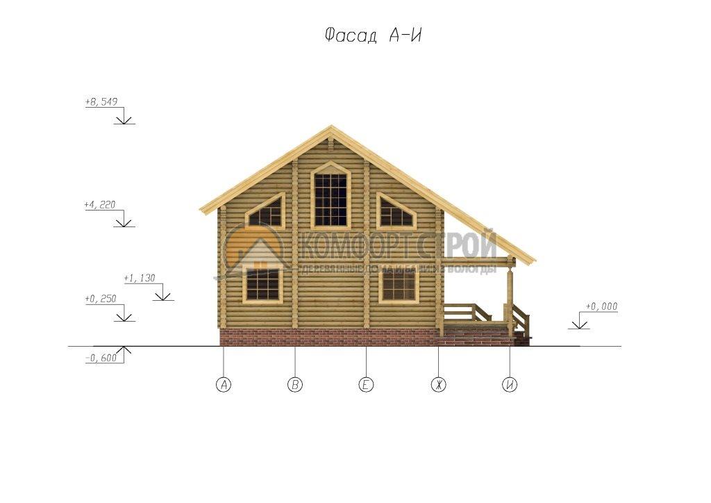 Проект №52 Скaндинaвия 12х13.5