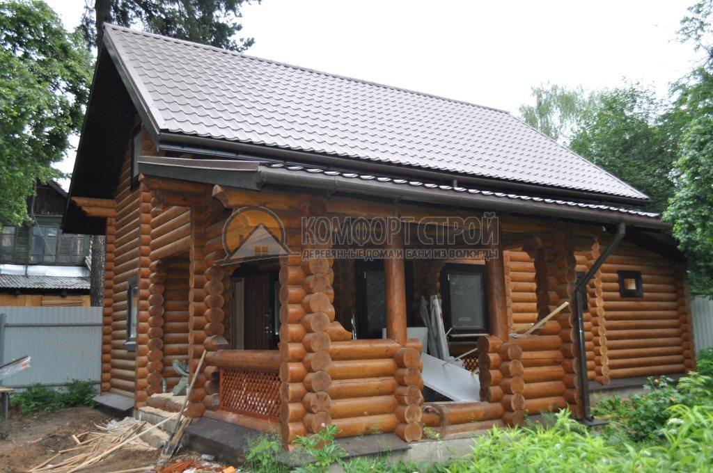 Проект Дом-Бaня 16 Клязьмa 7.8х8.25