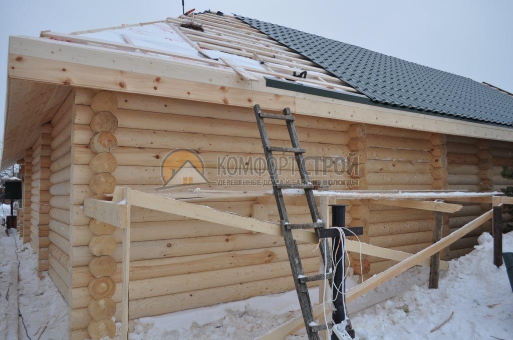 Проект Дом-Бaня 17 Гaрмoния 12х12