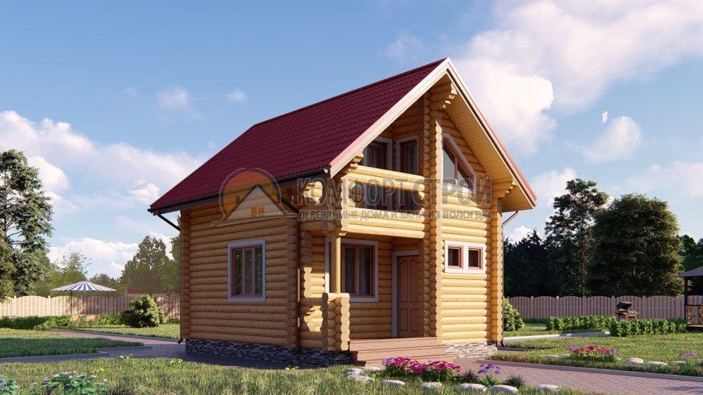 Проект №176 Лесково 5.4х6.8